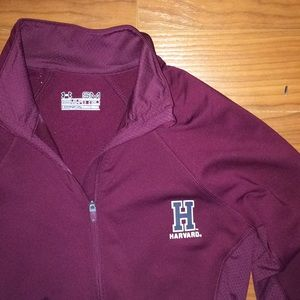 Under Armour Tops - Harvard Cold Gear Under Armour Quarter Zip